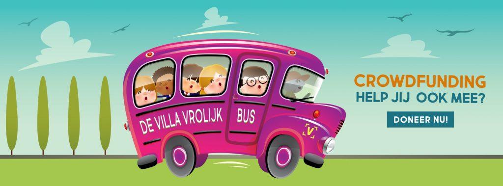 Crowdfundigs video voor een bus
